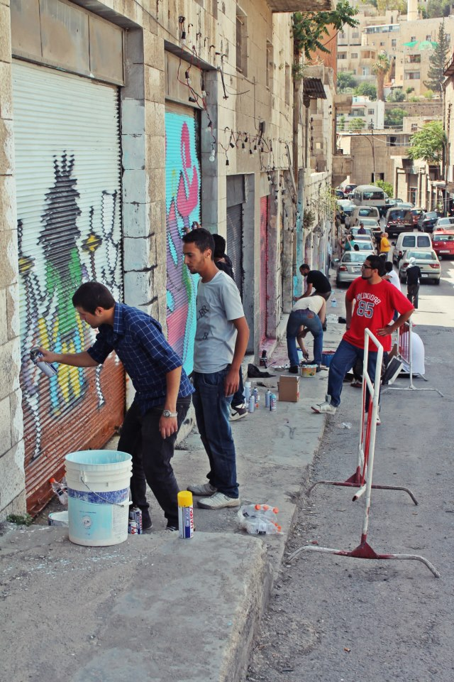 'Baladak' Brings Together Artists of Amman